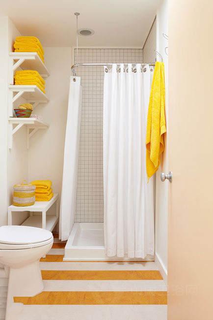 小卫生间装修效果图 我要清凉洗浴间高清图片
