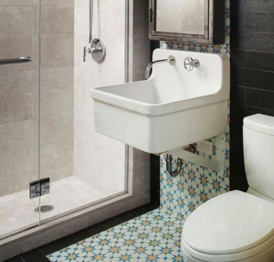 小户型卫浴间装修效果图 精致家居