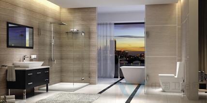 2015上海厨卫展展示的整体卫浴风格涵盖古典