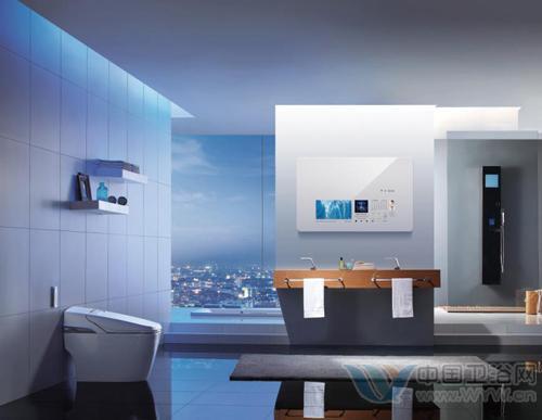 卫浴橱窗设计效果图
