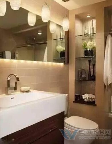精致实用:迷你卫浴间的正确打开方式(图)
