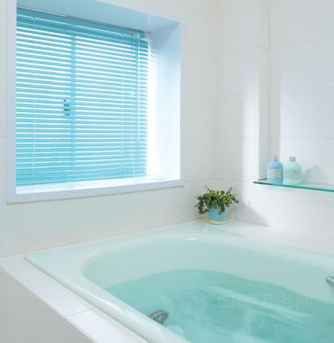 卫浴间百叶窗选购技巧-浴室百叶窗,浴室窗,卫浴间设计图片