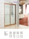 供应浴室玻璃隔断门屏风