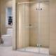 供应淋浴房玻璃平开门酒店家装