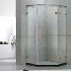 供应豪华钻石形淋浴房304不锈钢玻璃浴室门