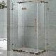 供应浴室方形淋浴房钢化玻璃平开式冲凉房
