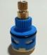 供应三孔分水铜杆陶瓷阀芯 淋浴龙头分水阀芯