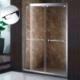 供应钢化玻璃淋浴房定制304不锈钢淋浴屏风