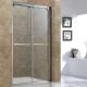 供应钢化玻璃淋浴屏风304不锈钢淋浴房