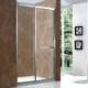 供应304不锈钢简易淋浴房洒店家装玻璃