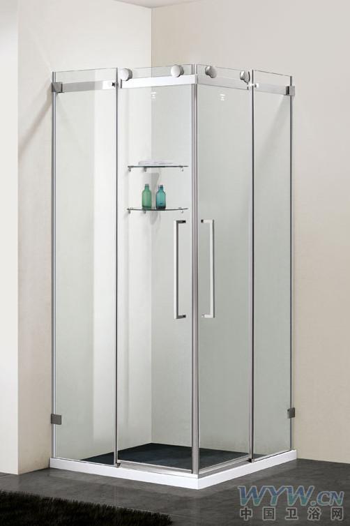 淋浴房十大品牌登宇淋浴房型号d9694s尺寸玻璃厚度高清图片