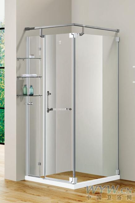 淋浴房 登宇淋浴房淋浴房型号 dh693kr-v玻璃厚度 淋浴房尺寸高清图片