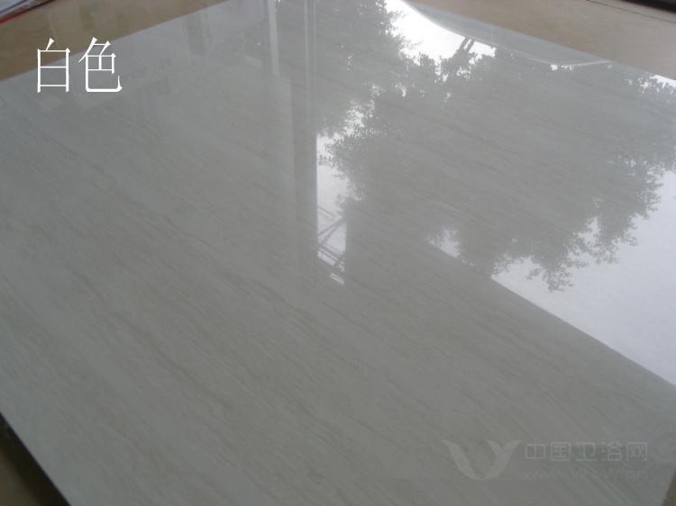 供应灰色木纹线石抛光砖地砖超洁亮