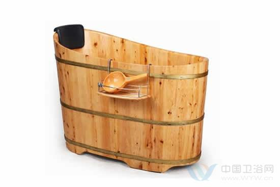 木桶款式上仿古代木桶的美观
